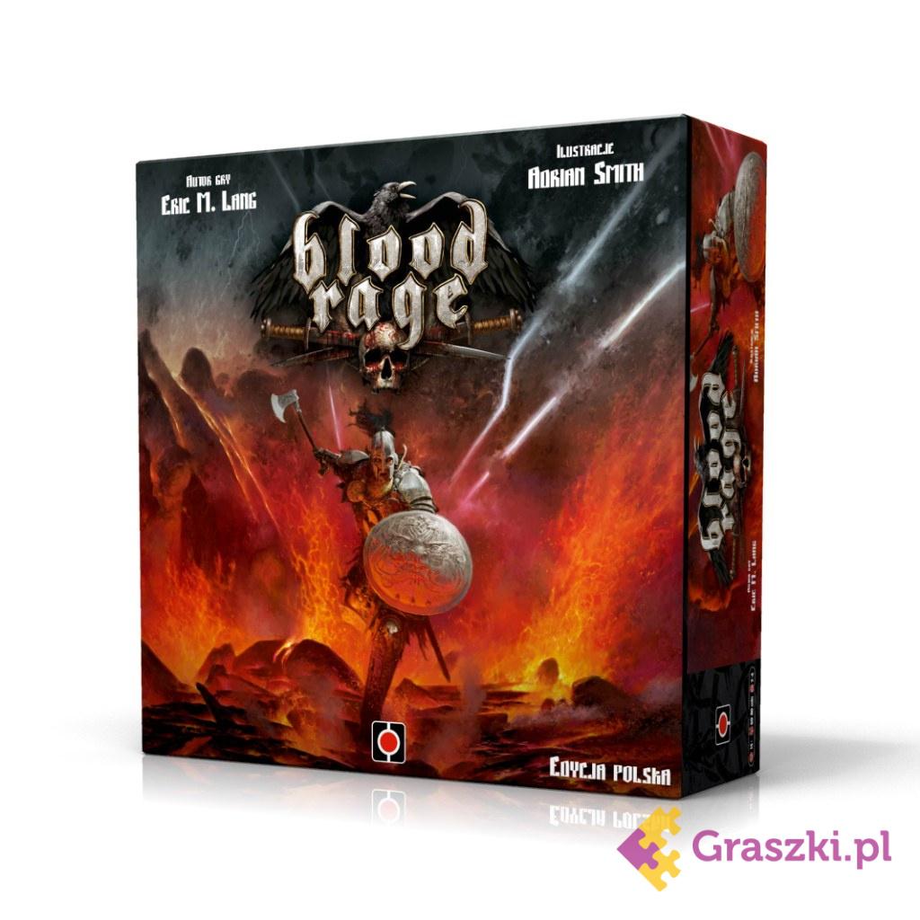 Blood Rage (PL) | Portal // darmowa dostawa od 249.99 zł // wysyłka do 24 godzin! // odbiór osobisty w Opolu